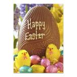 Invitación feliz del fiesta de Pascua Invitación 12,7 X 17,8 Cm