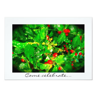Invitación feliz y brillante