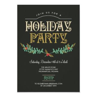 Invitación festiva de la celebración de días
