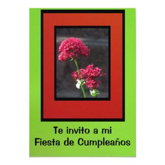 Invitación - Fiesta de Cumpleaños Card
