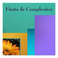Invitación - Fiesta de Cumpleaños Personalized Announcements