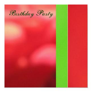 Invitación - fiesta de cumpleaños - multiusos