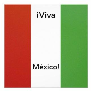 Invitación - Fiesta de Cumpleaños - ¡Viva México! Invites