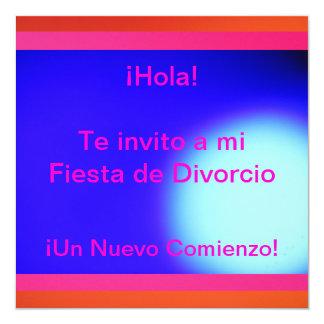 Invitación - Fiesta de Divorcio