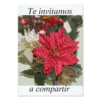 invitacion fiesta de Navidad Card