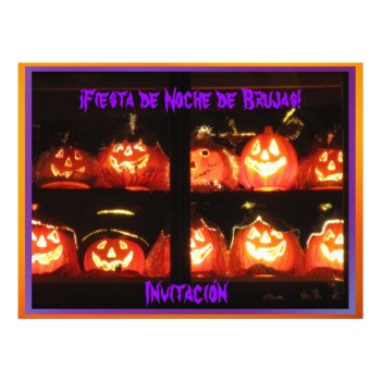 Invitación - ¡Fiesta de Noche de Brujas! Custom Invitations