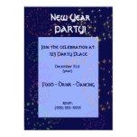 Invitación - fiesta del Año Nuevo Invitación 12,7 X 17,8 Cm