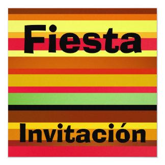 Invitación - Fiesta - Multicolor Card