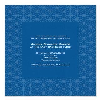 Invitación floral de la despedida de soltero del invitación 13,3 cm x 13,3cm