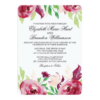 Invitación floral de la primavera el |
