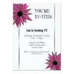 Invitación floral del fiesta