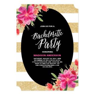 Invitación floral del fiesta del encanto el |