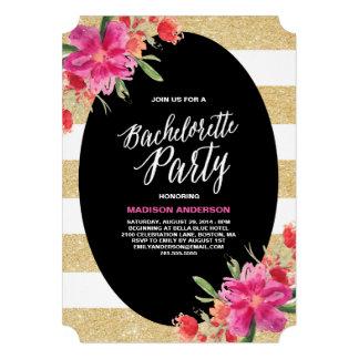 Invitación floral del fiesta del encanto el Bach
