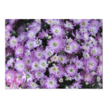 Invitación floral púrpura