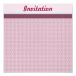 Invitación floral rosada oscura