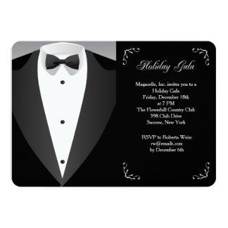 Invitación formal de la gala del día de fiesta de