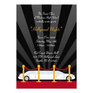 Invitación formal del baile de fin de curso del Li