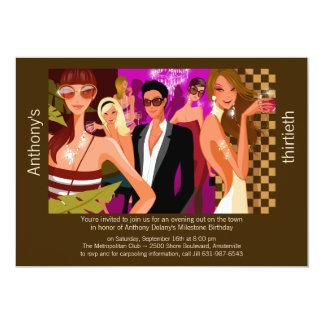 Invitación formal elegante del fiesta