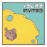 Invitación fresca de la fiesta de cumpleaños del r
