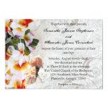 Invitación fresca del boda de playa de los leus de invitación 12,7 x 17,8 cm