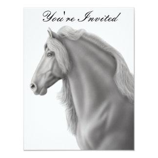 Invitación frisia del caballo