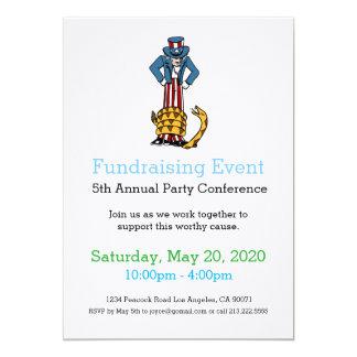 Invitación Fundraising del acontecimiento de la