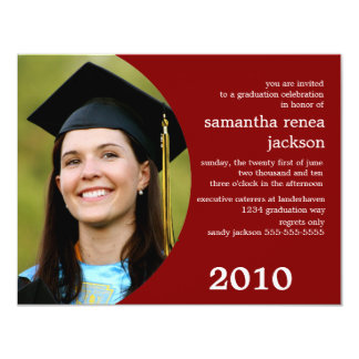 Invitación futura de la graduación del soñador
