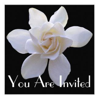 Invitación - Gardenia en negro