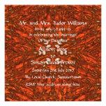 Invitación geométrica del boda