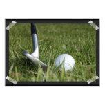 Invitación Golfing de la foto