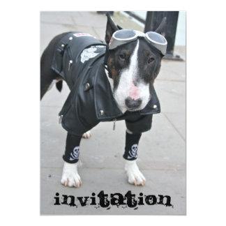 Invitación gótica del dogo