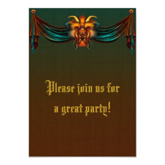 Invitación gótica del verraco