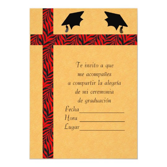 invitacion graduacion 1 invitation
