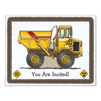 Invitación grande del fiesta de los niños de la invitación 10,8 x 13,9 cm
