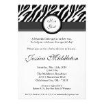invitación gris negra de la fiesta de bienvenida a