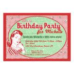 Invitación hábil de la fiesta de cumpleaños de los