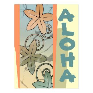 Invitación hawaiana del bebé de Luau de la Tarjeta Postal