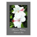 Invitación hawaiana del boda invitación 12,7 x 17,8 cm
