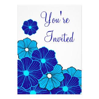 Invitación hawaiana tropical
