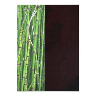 Invitación - hierba verde