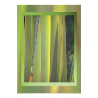 Invitación - hierba verde - Multi-ocasión
