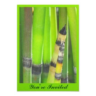 Invitación - hierba verde - multiusos invitación 12,7 x 17,8 cm