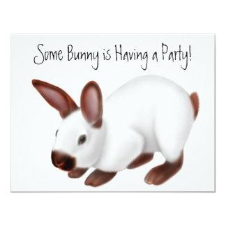 Invitación Himalayan del conejo