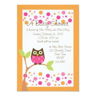 """Invitación-hotpink rosada de la fiesta de invitación 5"""" x 7"""""""