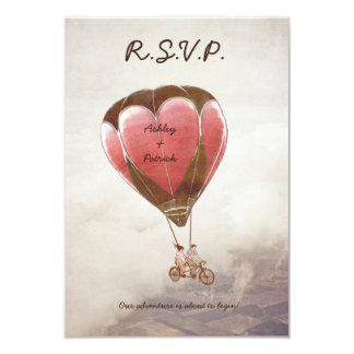 Invitación IDEAL de RSVP del AMOR que se casa