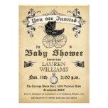 Invitación II de la fiesta de bienvenida al bebé d