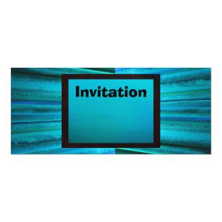 Invitación - iluminación Azulado-Verde del lavado