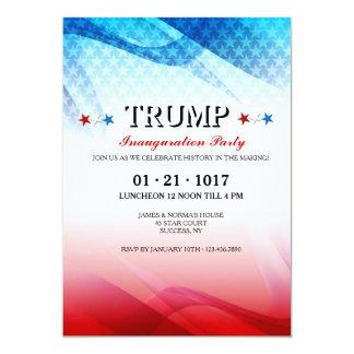 Invitación inaugural de la celebración americana
