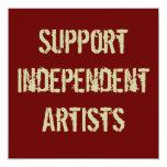 Invitación independiente de los artistas de la