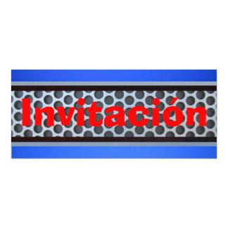 """Invitación - """"Industrial Look"""" Card"""